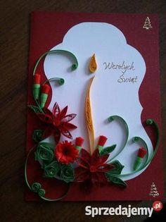 Kartki świąteczne Quilling!! - Sprzedajemy.