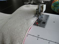 "Stitch a 1/4"" seam and always press seams open! Also, join blocks in vertical columns (easier to line up blocks)."