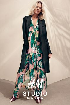 It's finally here! The laid-back luxe H&M Studio SS15 collection. I H&M STUDIO