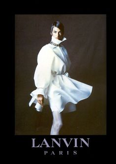 1990 - Claude Montana for Lanvin Couture adv - Linda Evangelista by Paolo Roversi