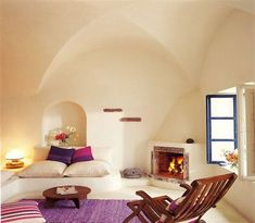 Guestroom at Perivolas, Santorini, Greece