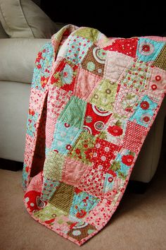Bliss Quilt by Sarah.WV, via Flickr