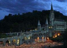 """See 208 photos and 8 tips from 2490 visitors to Lourdes. """"Lourdes is awesome no matter what creed. Lourdes France, The Places Youll Go, Places To See, Places Ive Been, Bernadette Lourdes, Our Lady Of Lourdes, World Days, Youtube Kanal, Viajes"""