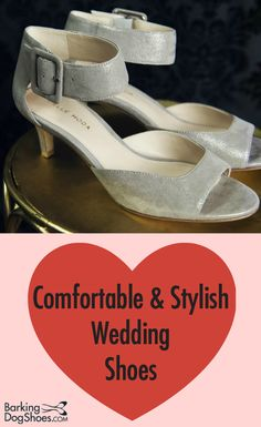 Your feet should be has happy as your heart on your special day! See our 9 stylish yet foot-friendly shoes and sandals for bride, bridesmaids and mother of bride Bridal Shoes, Wedding Shoes, Comfortable Dress Shoes, Walking Down The Aisle, Work Clothes, Bridesmaids, Sandals, Elegant, Stylish