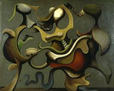 Kurt Seligmann  - 1935 Painting which Prefers the D to the R (Kunstmuseum Bern, Switzerland)