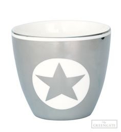 Greengate latte cup Silver 1 star