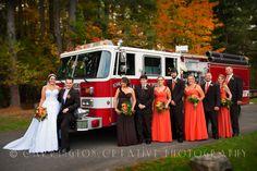 A Firefighter Wedding... Wedding Photography by Carrington Creative Photography