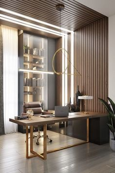 Small Office Design, Home Office Design, Home Office Decor, Corporate Office Design, Clinic Interior Design, Modern Interior Design, Home Room Design, Interior Design Living Room, Modern Home Offices