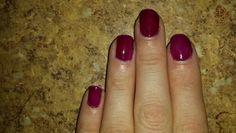 Black cherry gel enamel