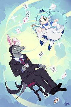 toffee&moon in Wonderland! - Salvador Bear - pixiv
