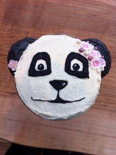 Boo's panda cake!