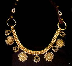 Custom noseband chain by Arabian Fancy Tack