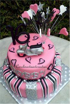sweet sixteen taart Sweet Sixteen taart | Caroline's taarten | Pinterest | Sweet  sweet sixteen taart