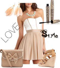 Beige summer dress | bridesmaids dresses | Pinterest | For sale ...