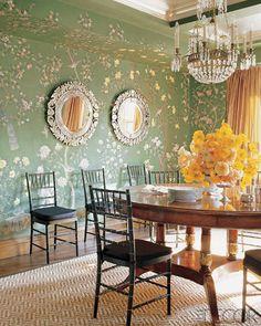 24 Glamorous Garden-Inspired Rooms