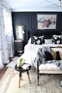 christine dovey style master bedroom