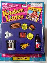 Barbie Kitchen Littles Lunch Fun