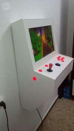 Resultado de imagen de medidas para maquina arcade