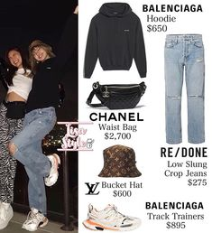 Blackpink Outfits, Cute Lazy Outfits, Kpop Fashion Outfits, Korean Outfits, Winter Outfits, Blackpink Fashion, Korean Fashion, Womens Fashion, Low Jeans