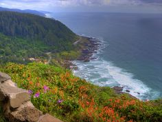 Cape Perpetua Scenic Area, Oregon Coast.