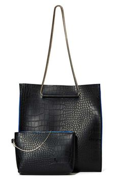 Nasty Gal x Nila Anthony Out of the Blue Shopper Tote - The Clean Slate Sale