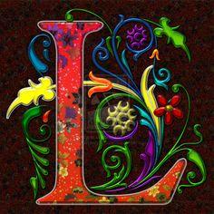 Regal Letter L by BlakeHenryRobson.deviantart.com on @deviantART