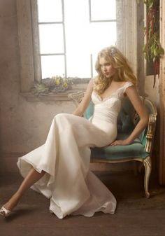 Elsa Hosk modeling for Alvina Valenta Spring - Wedding Gowns Spring 2009 Formal Dresses For Weddings, Wedding Dresses Plus Size, Plus Size Wedding, White Wedding Dresses, Dress Formal, Bridal Gown Styles, Bridal Gowns, Wedding Gowns, Formal Wedding