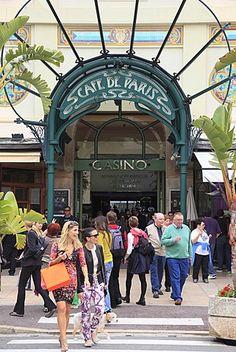 Cafe de Paris, Casino Entrance, Monte Carlo, Monaco, Cote d'Azur…
