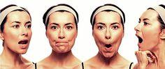 grasa facial ejercicios