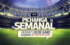 Este viernes 20 de junio del 2014 invitamos a todos los integrantes del club de tobi a participar de la pichanga semanal en la cancha de la Perú, a partir de las 22:30