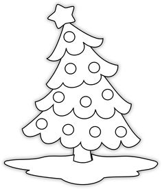 Free Digi Stamps | Little Scraps of Heaven Designs: FREE Christmas Tree Digi Stamp