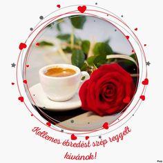 Good Morning, Vegetables, Food, Red Hearts, Circles, Bom Dia, Buen Dia, Meal, Bonjour
