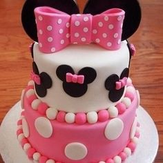 Image via We Heart It https://weheartit.com/entry/86771281/via/7684522 #beautiful #cake #cute #disney #fashion #food #girl #girly #glamour #luxury #minniemouse #pink #pretty #yummy #foodporn