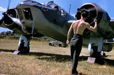 A Royal Air Force grounds crewman gives the OK to a pilot //Robert Capa Photography Tips, Street Photography, Portrait Photography, Landscape Photography, Nature Photography, Fashion Photography, Wedding Photography, Bristol Blenheim, William Eggleston