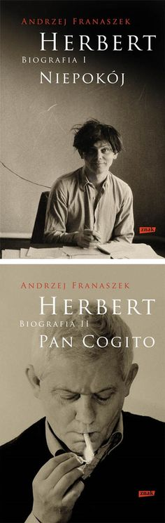 Znak publishing house is celebrating the Year of Zbigniew Herbert by publishing the poet's biography, authored by Andrzej Franaszek. In May 2018, two volumes are being released: Herbert: Biografia I. Niepokój (Unrest) and Herbert: Biografia II. Pan Cogito (Mr. Cogito).