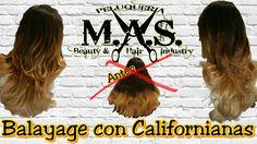 """Paso a paso, como hacer Mechas Californianas. Videotutorial peluquería """"..."""