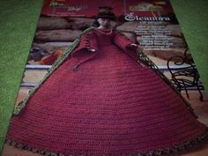 Ladies of Fashion Crochet Doll Pattern Eleanora Spain - 1