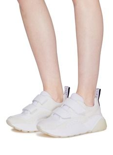 8ef72232412d5b Stella McCartney  Eclypse  faux leather and suede sneakers Suede Sneakers