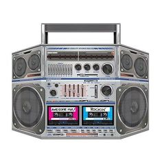 We-Like-The-BOOM-BOX-STAND-UP-PROP-Party-Decoration-80s-Party-HIP-HOP
