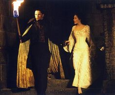The Phantom of the Opera (Erik) and Christine Daae. I love these two together, screw Raoul, these two are the real deal.