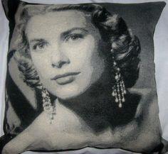 Grace Kelly Cushion by gonevuku on Etsy, $40.00