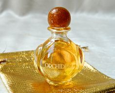 Vintage ORCHIDEE  Yves Rocher 1/4 oz Full Perfume  by ODONA, $15.99