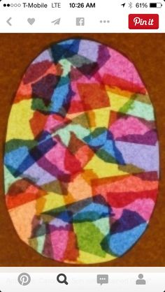 Kindergarten Easter Activities Catch The Sun With Stained Glass Eggs