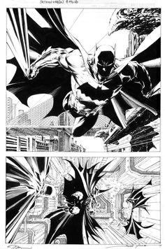 For Sale - Jim Lee - Batman Comic Art