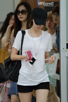 [120623] SNSD at Gimpo Airport back from Japan