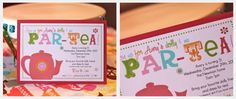 Dollie and Me Par-tea!  Great idea for little girl's birthday.