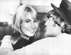 """John & Cynthia Lennon - """"I was hysterical. That was the trouble. I was jealous of anyone she had anything to do with. I demanded absolute trust from her, because I wasn't trustworthy myself. I was neurotic, taking all my frustrations out on her. She did leave me once. That was terrible. I couldn't stand being without her."""" - John Lennon on his relationship with Cynthia"""