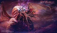 Great Cthulhu By Stephen Summers
