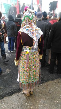 Albanian costume (upper reka)