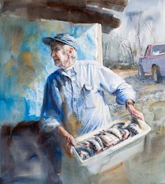 """American painter Mary Whyte 